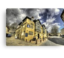 White Hart at Todmorden  Canvas Print