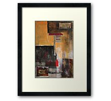 once sleep the dreams of kings Framed Print