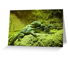 Blends of nature Greeting Card