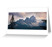 Croda da Lago Greeting Card