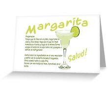 Margarita Greeting Card