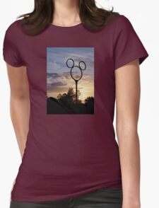 Orlando Sunset Womens Fitted T-Shirt