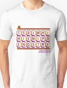 WORDGRAM ABOUT SIN... Unisex T-Shirt