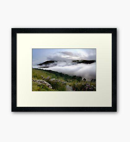 Cloud Valley Framed Print