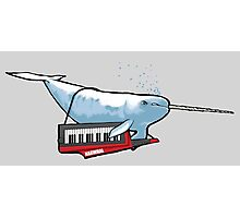 Keytar Narwhal Photographic Print