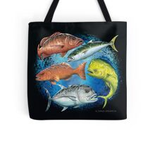 Mixed Fish Tote Bag
