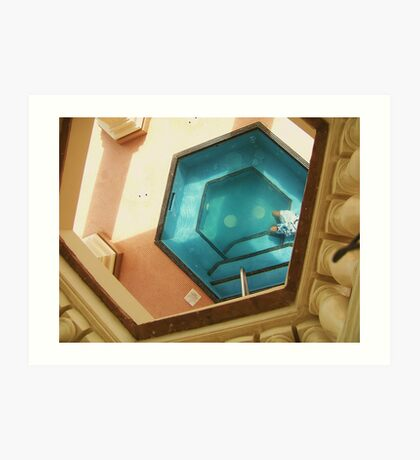 Hot Tub Art Print