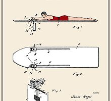 Surfboard Patent - Colour by FinlayMcNevin