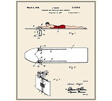 Surfboard Patent - Colour Photographic Print