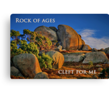 """""""Cleft For Me"""" Canvas Print"""
