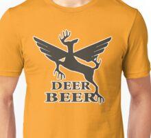 Deer beer t-shirt Unisex T-Shirt