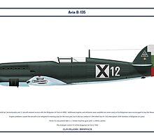 Avia B-135 Bulgaria 3 by Claveworks