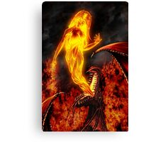 Birth of Fire Canvas Print