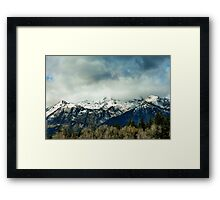 Wyoming Skies Framed Print