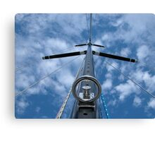 Ready the Sail Canvas Print
