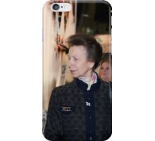 Princess Royal attends the London Boat Show at ExCel iPhone Case/Skin