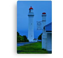 Split Point Lighthouse Canvas Print