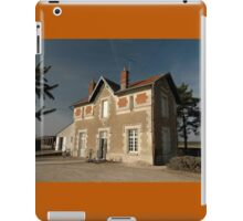 Cellettes Railway Station, France, Europe 2012 iPad Case/Skin