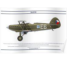 Avia B-534 Czech 1 Poster