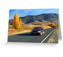 Murray Valley Highway Greeting Card
