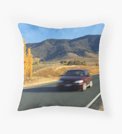 Murray Valley Highway Throw Pillow