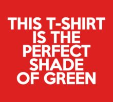 This t-shirt is the perfect shade of green Kids Clothes