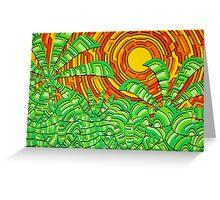 Aztec Jungle Greeting Card
