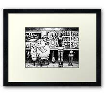 Cheese. Framed Print