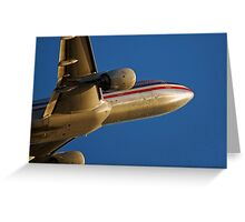 777 Perspective Greeting Card