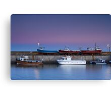Seahouses Stack Canvas Print