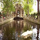 Palace of Luxemburg gardens, Paris by chord0