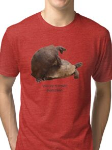 You're Turtley Awesome Tri-blend T-Shirt