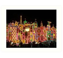 Small Colorful World Art Print