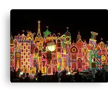 Small Colorful World Canvas Print
