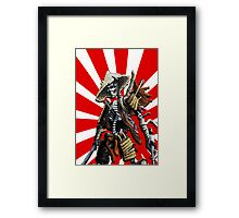 death of a samourai Framed Print