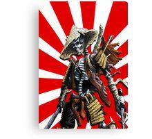 death of a samourai Canvas Print