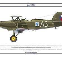 Avia B-534 Czech 2 by Claveworks