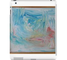 Caribbean blue iPad Case/Skin