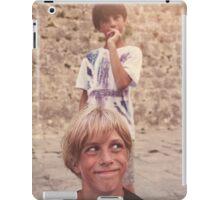 Pulling Faces iPad Case/Skin