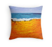 Another Cable Beach ! Throw Pillow