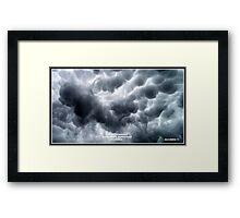 Cloud Formation 3 Framed Print
