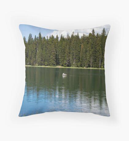 Mesa Lakes Throw Pillow