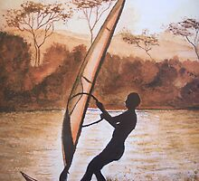 The Windsurfer by © Linda Callaghan