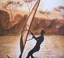 The Windsurfer by © Linda Callaghan