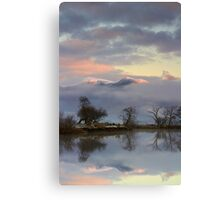 Cool Dawn Canvas Print