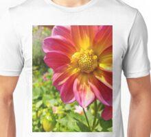 Single Flower in Garden Unisex T-Shirt