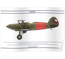 Avia B-534 Czech 3 Poster