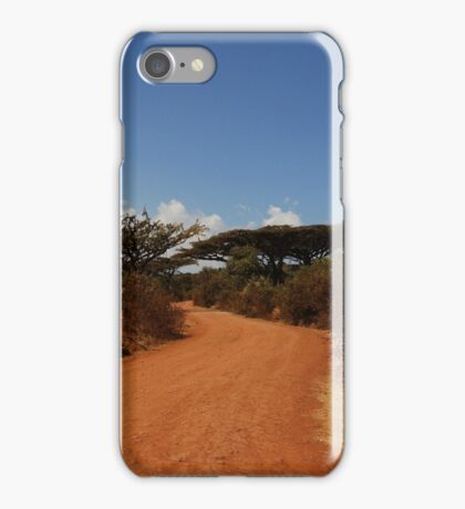 The Dusty Road iPhone Case/Skin