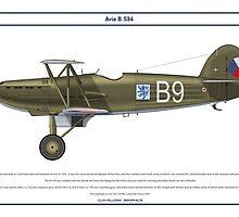 Avia B-534 Czech 4 by Claveworks