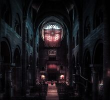 Modena Cathedral, Italy by Traven Milovich